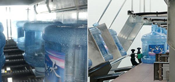 環境に配慮したリターナブルボトル